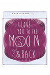 Invisibobble Sweet Plum To the Moon and Back - Invisibobble Sweet Plum To the Moon and Back резинка для волос сливовая, 3 шт